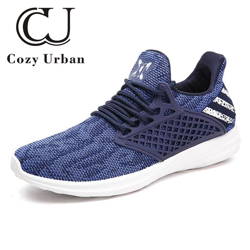 Hombres Deporte Respirable Hombre Verano Zapatos Clásico Para Casual 2018 Urbano Acogedor Caminar Nuevo Sneakers PkXZui