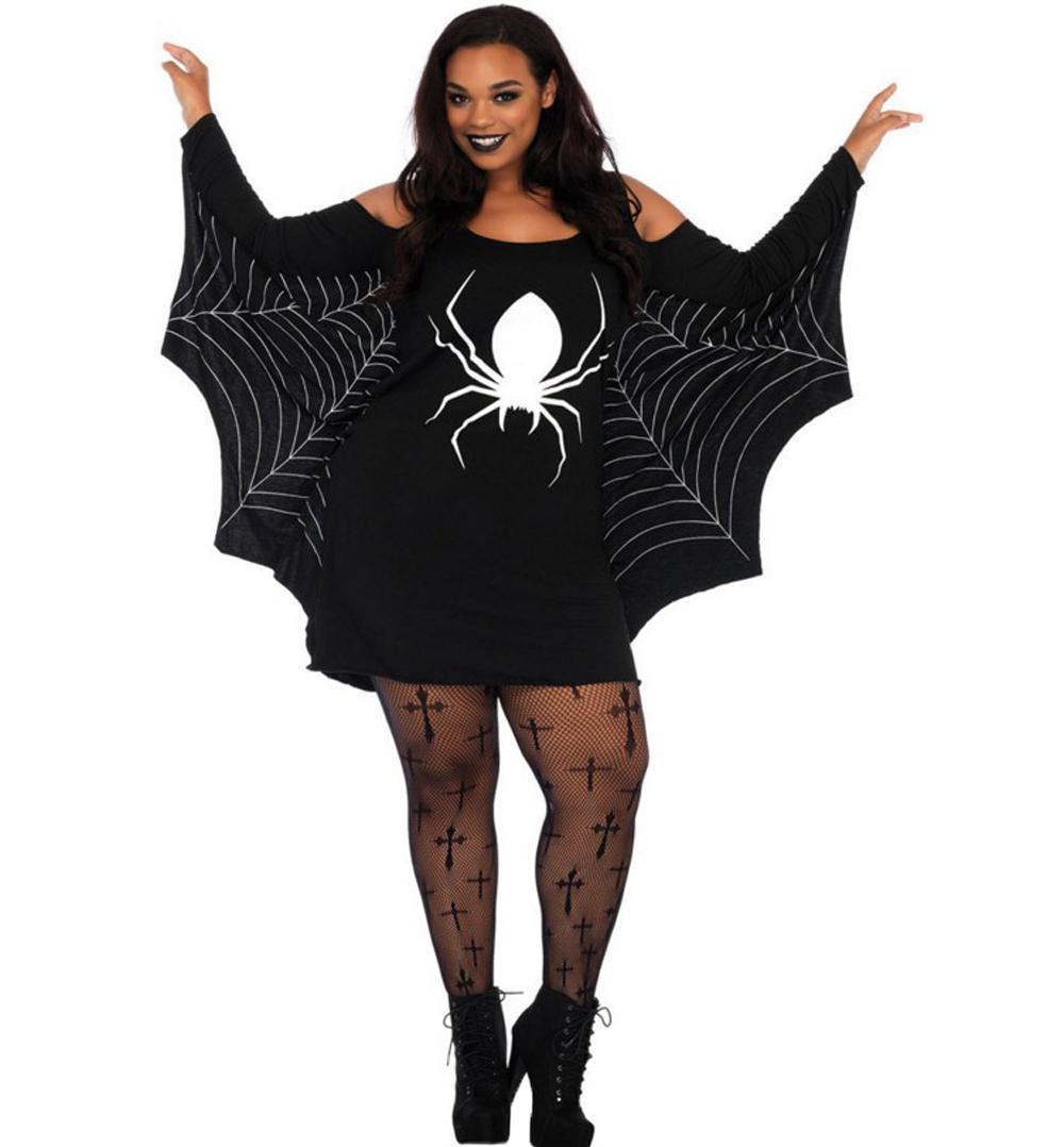 De Look Femme Brillant Cuir Halloween Ailes Chauve Souris Gothique 29WDHEIeY
