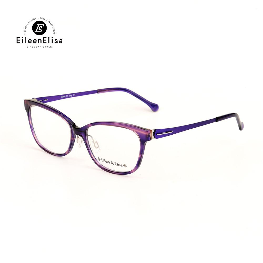 841ab8eb472 EE New Model Women Glasses Frame Branded Acetate Material Myopia ...