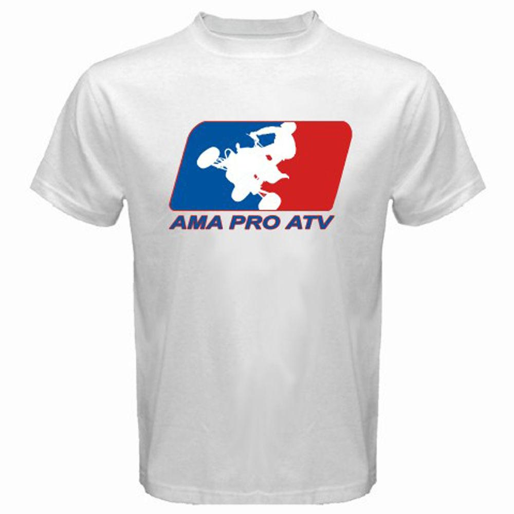 be2198b72 New Ama Pro Atv Racinger Logo Men's White T-shirt S M L Xl 2xl 3xl T Shirt  Casual Men Clothing 2018 New Arrival Men Online with $28.54/Piece on  Nanlystore's ...