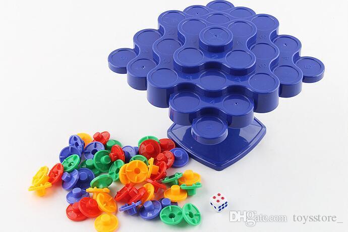 Juguetes para niños Bloques de construcción coloridos Juguete Copos de nieve Conectar Bloques de plástico entrelazados Juegos de rompecabezas Educativos DIY PlasticToys