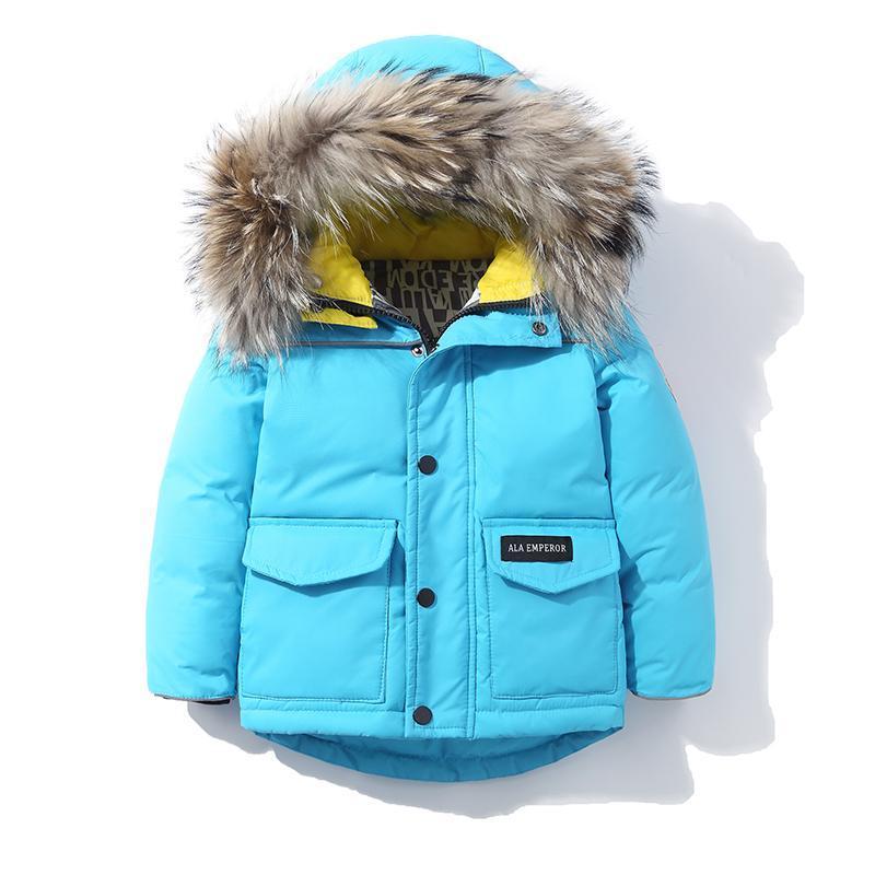 88e1f62b526d 2018 New Kids Down Coat Girls Boys Down Jackets Children Parka ...