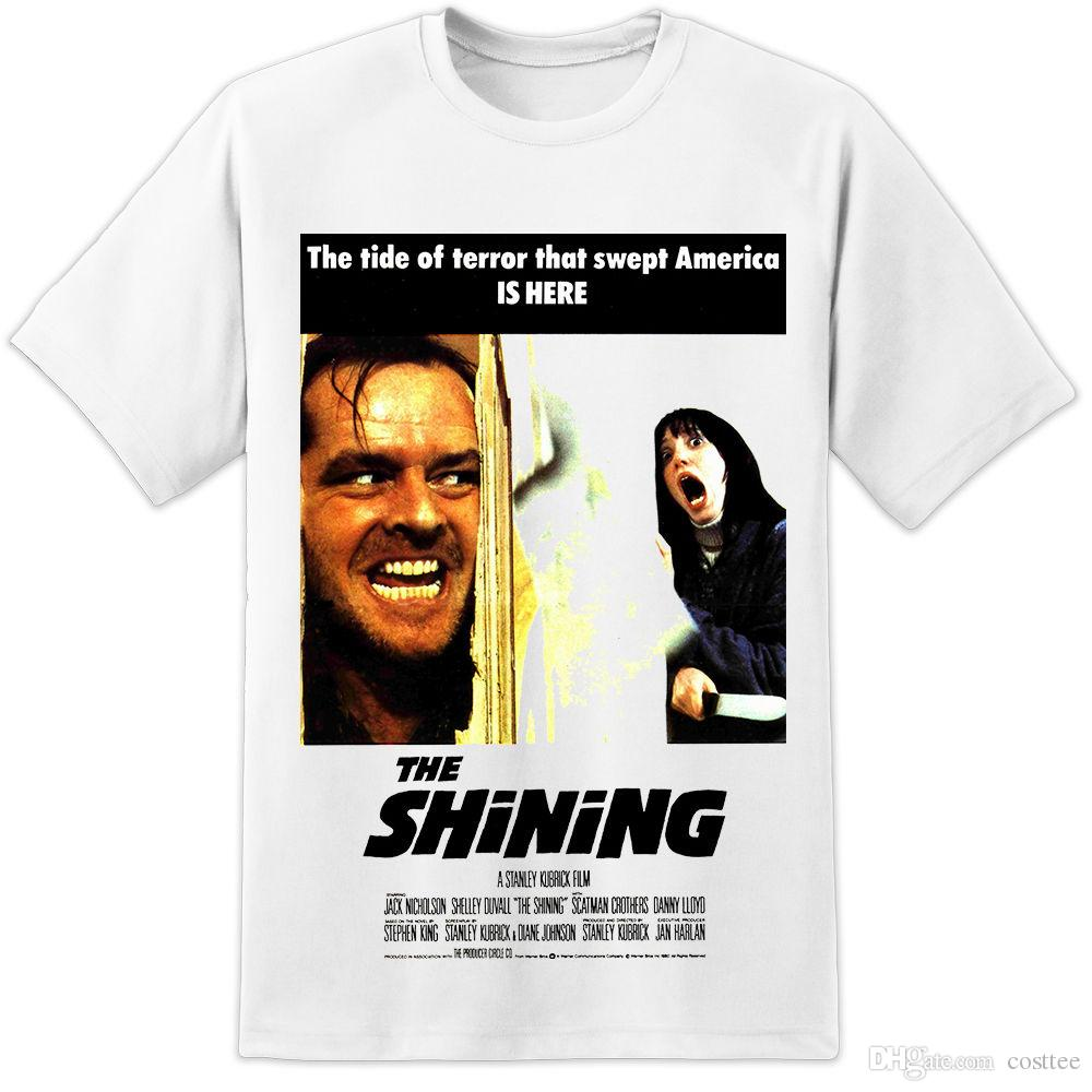Carrie Horror Movie Poster Homme Tshirt Japanese Streetwear Tshirts Gym T-shirt Black And White T-shirts Xxxxl Men's Clothing Tops & Tees