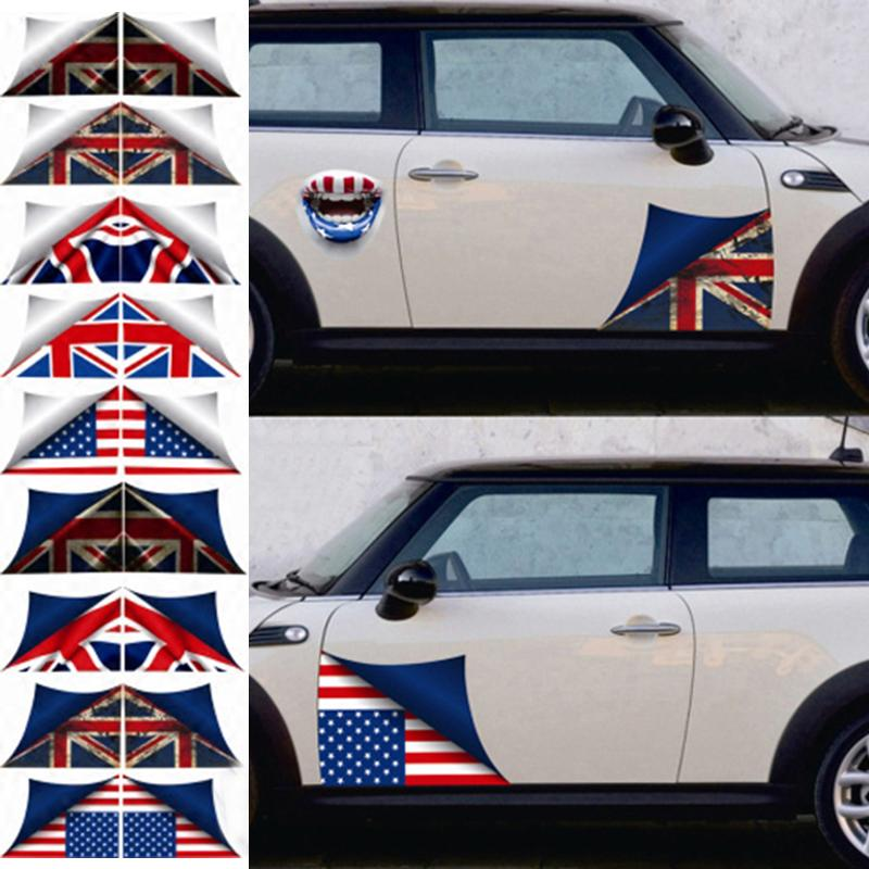 Car Styling Side Door Skirt Decal Sticker Body Decoration For Mini Cooper One Jcw S R60 R55 R56 F55 F56 F60 Countryman