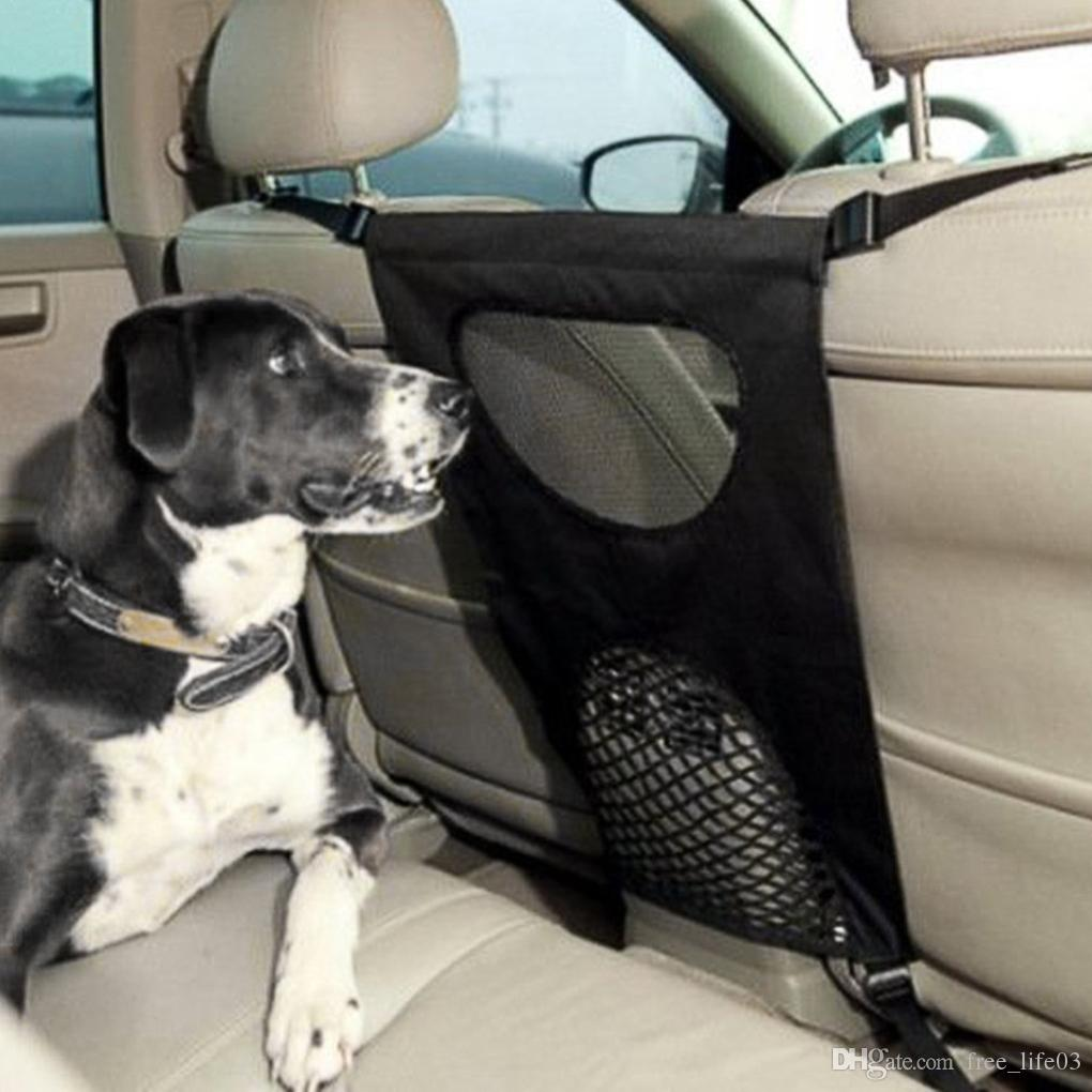 Dog Car Back Seat Fence Isolation Pet Travel Automotive Accessories Supplies Protection Driving Safety Mesh Gate