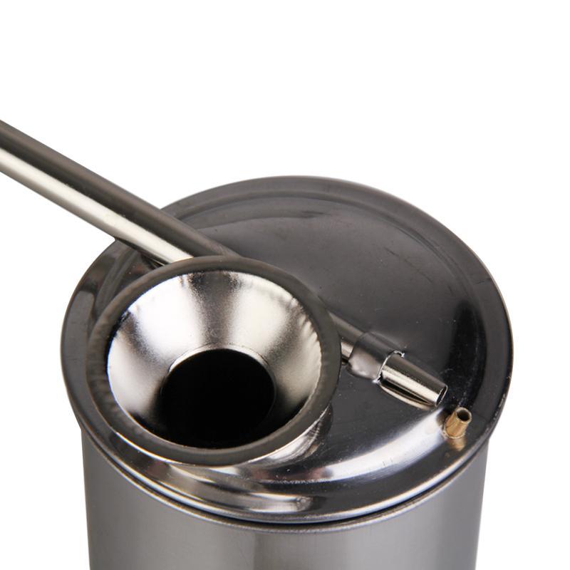 Нержавеющая сталь Краска Глазури спрей живопись распылитель металл распылитель 100 мл 200 мл глины инструмент большой