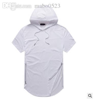 11622a30333 Justin Bieber Clothes Mens Longline Curve Hem T Shirt Hooded Mens ...