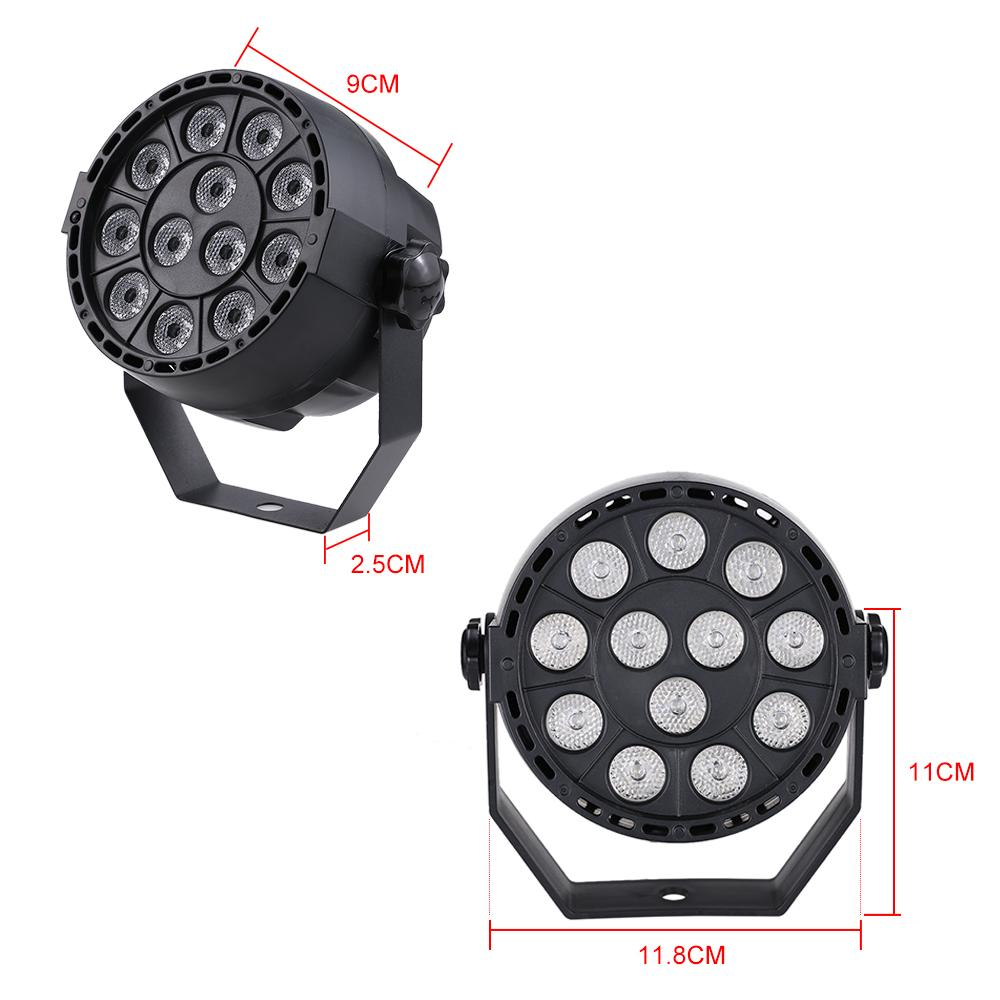Auto Sound Active DMX512 Master-slave 8 Channels UV LED Stage Light LED Par DJ Equipments Ultraviolet Led Stage Par Light Lmap