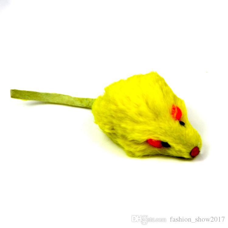 أرنب الشعر مضحك الفأر الجرذ الفأر لعب القط أفخم البسيطة ماوس القط لعبة الأرنب الحقيقي الفراء الحصى يبدو لطيف لعبة