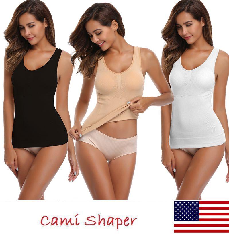 1ae6dff987 2019 Slimming Underwear Bodysuit Women Waist Trainer Slimming Belt Body  Shaper Corset Shapewear Hot Shaper Cami Tank Top From Edmund02
