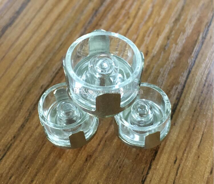 100% кварцевые керамические Титана ногтей 12мм 16мм 510Nail атомайзер испаритель электронная сигарета 510nail воск Vape катушки керамический нагревательный Роб испаритель для Ecube