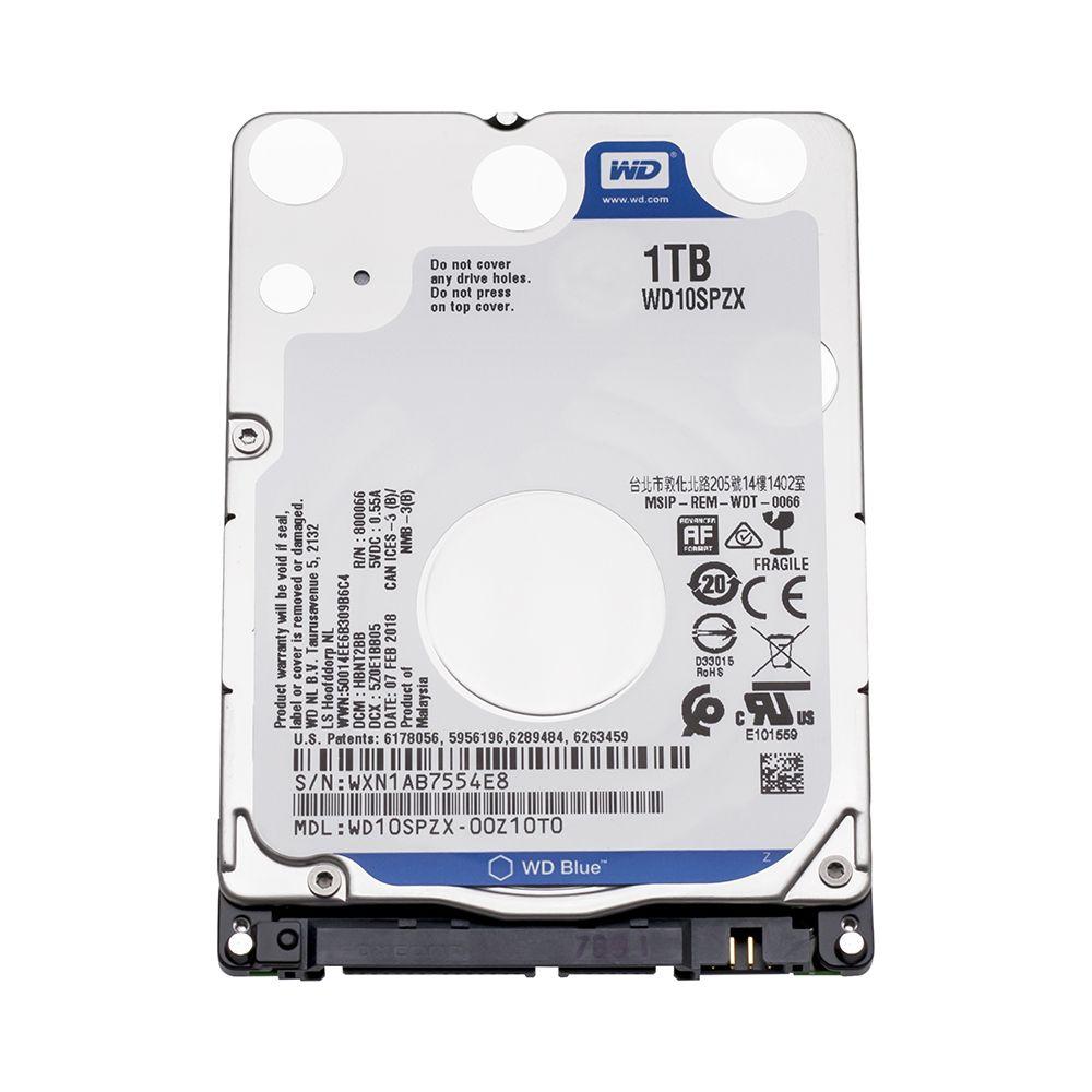 Wd Blue 1tb Hdd 2 5 Sata Wd10spzx Disco Duro Laptop Internal Sabit