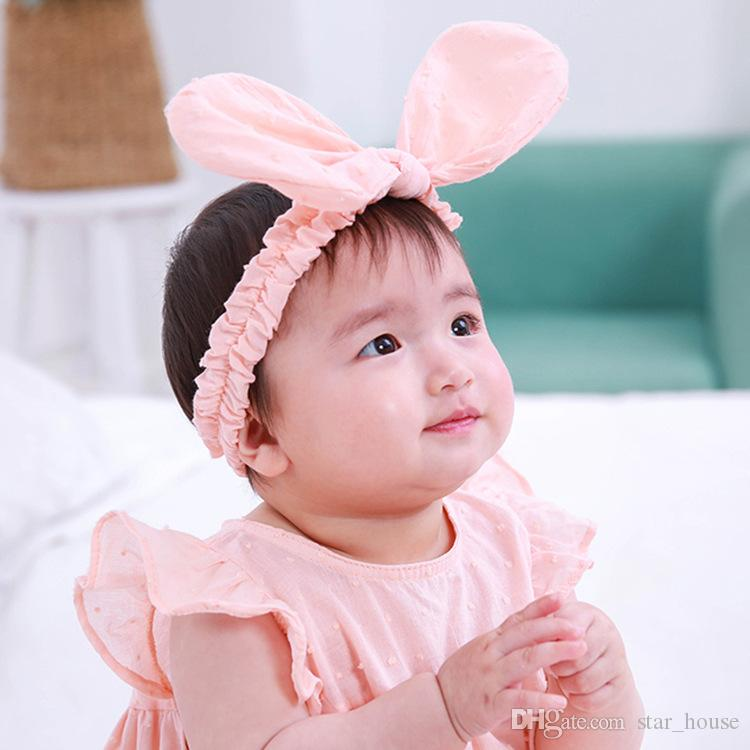 Newborn Baby Kids Bunny Ear Headband Babies Headbands Bunny Rabbit Ear  Hairband Hair Clip Band Accessories Hair Bands Women Womens Hair Bows From  Star house ... aa10e7df397
