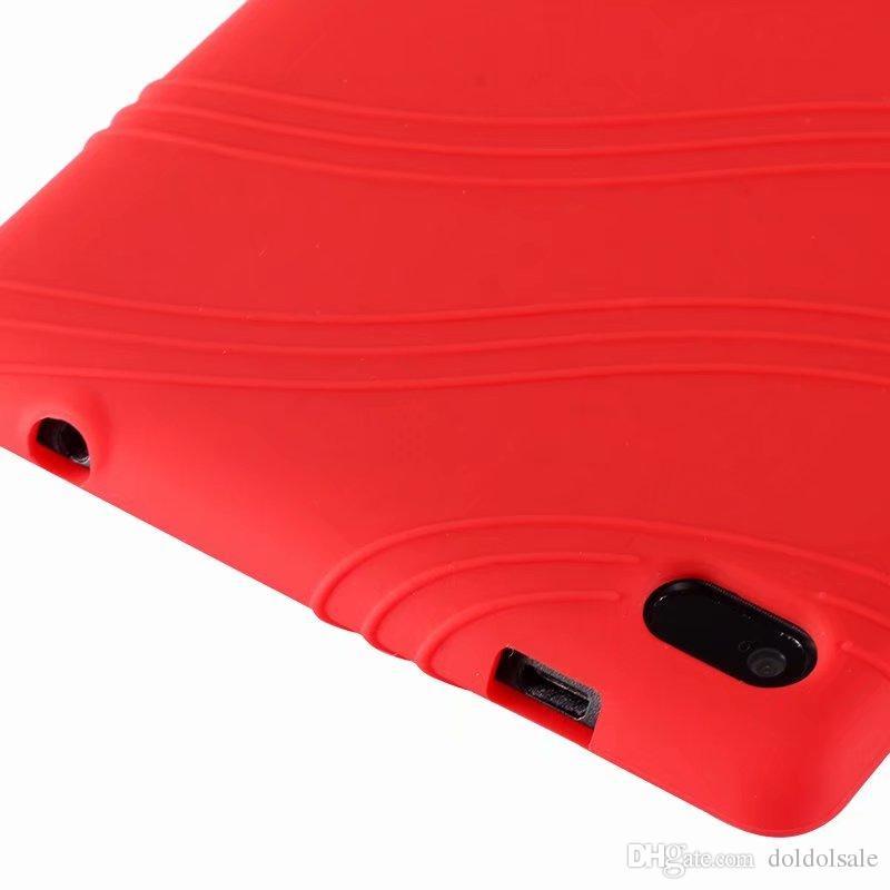 Soft Silicon Rubber TPU Back Cover Case for Lenovo Tab4 Tab 4 7 Essential TB-7304 TB-7304F TB-7304I TB-7304X 7 inch Tablet
