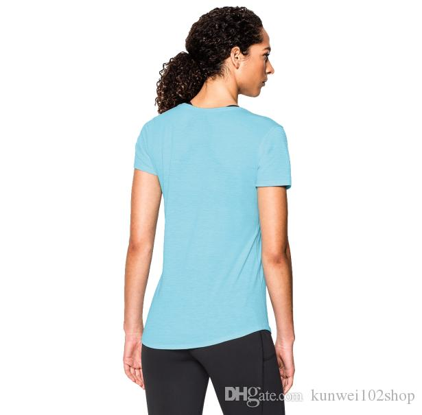 21f628bf51f Tights Women New Sports Casual Short - Sleeved T - Shirt Ultra ...