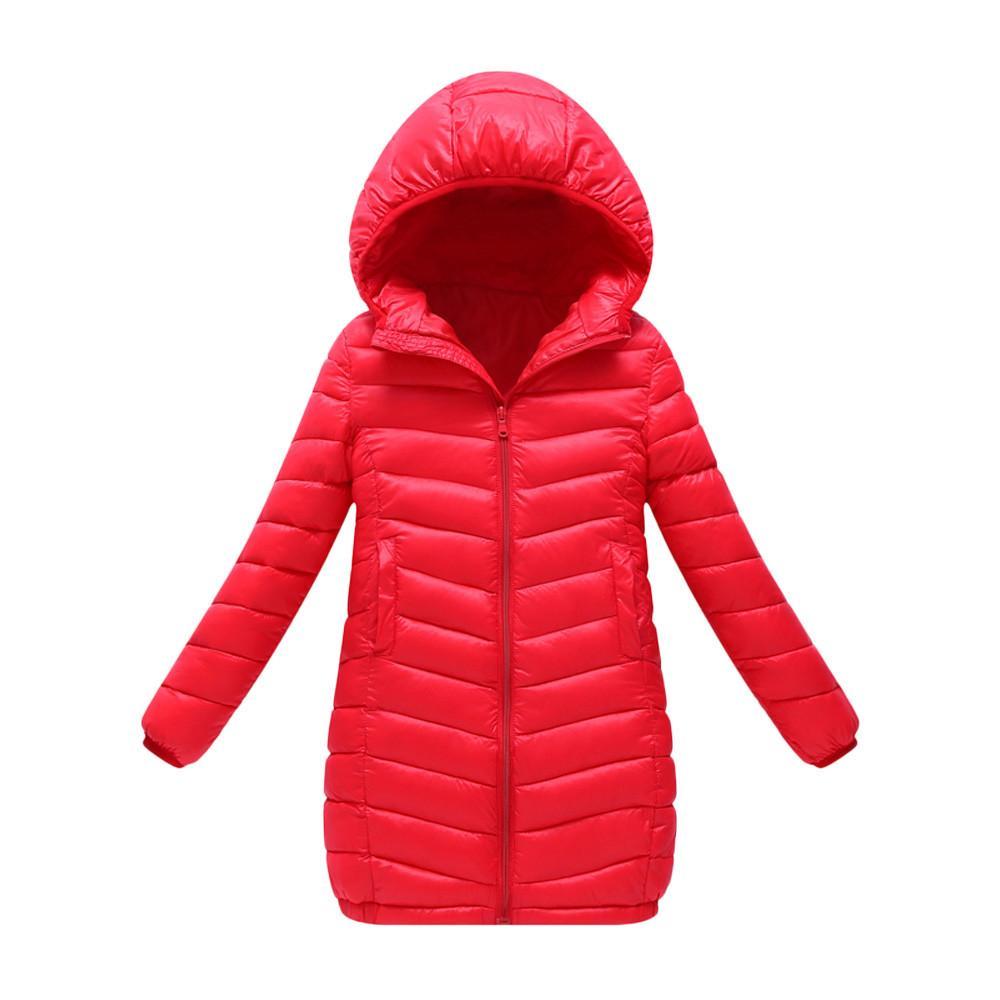 Compre Niños Bebé Niña Niño Sólido Clásico Rojo Negro Azul Marino Púrpura  Abrigo Con Capucha Larga Sección Abajo Chaqueta Ropa De Abrigo Gruesa  Caliente A ... 90035a5bb22a9