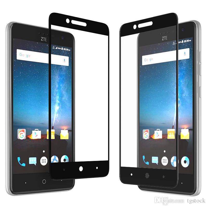 For ZTE Zmax Pro Z981 Screen Protector Blade Zmax Z982 LG K30 K10 2018 Full  Cover Tempered Glass Film With Luxury Retail Package Glass Screen
