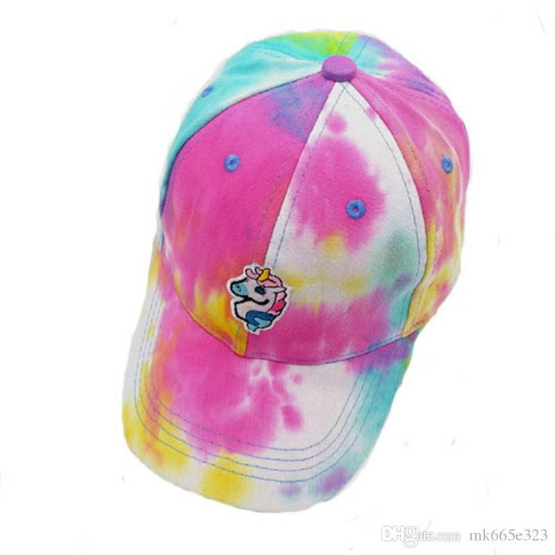 60b812e3d1411 2019 Unicorn Baseball Caps Animal Horse Embroidered Lightweight Breathable  Soft Golf Caps Kids Adults Sport Hat Fashion Accessory From Mk665e323