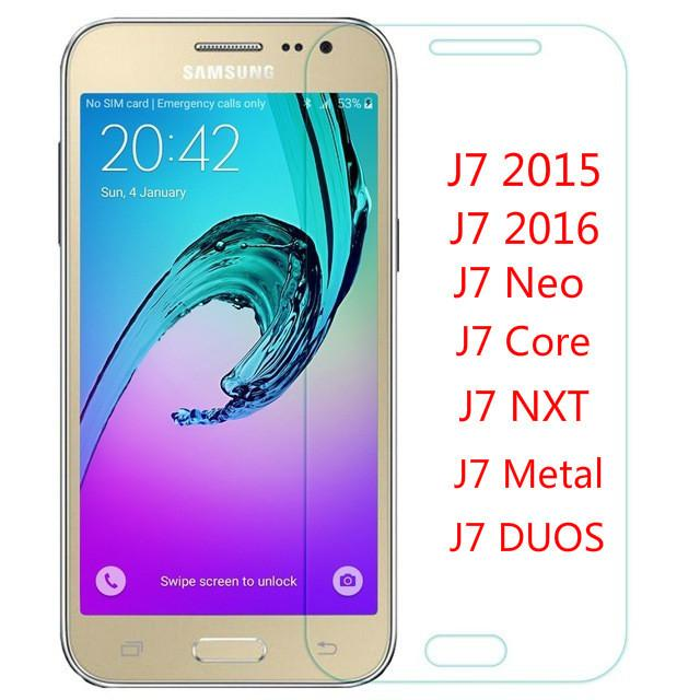 Screen Protector For Samsung Galaxy J7 Neo J710F J7 Core Tempered Glass For  Samsung Galaxy J7Neo Glass Nxt Duos J701F DS Film