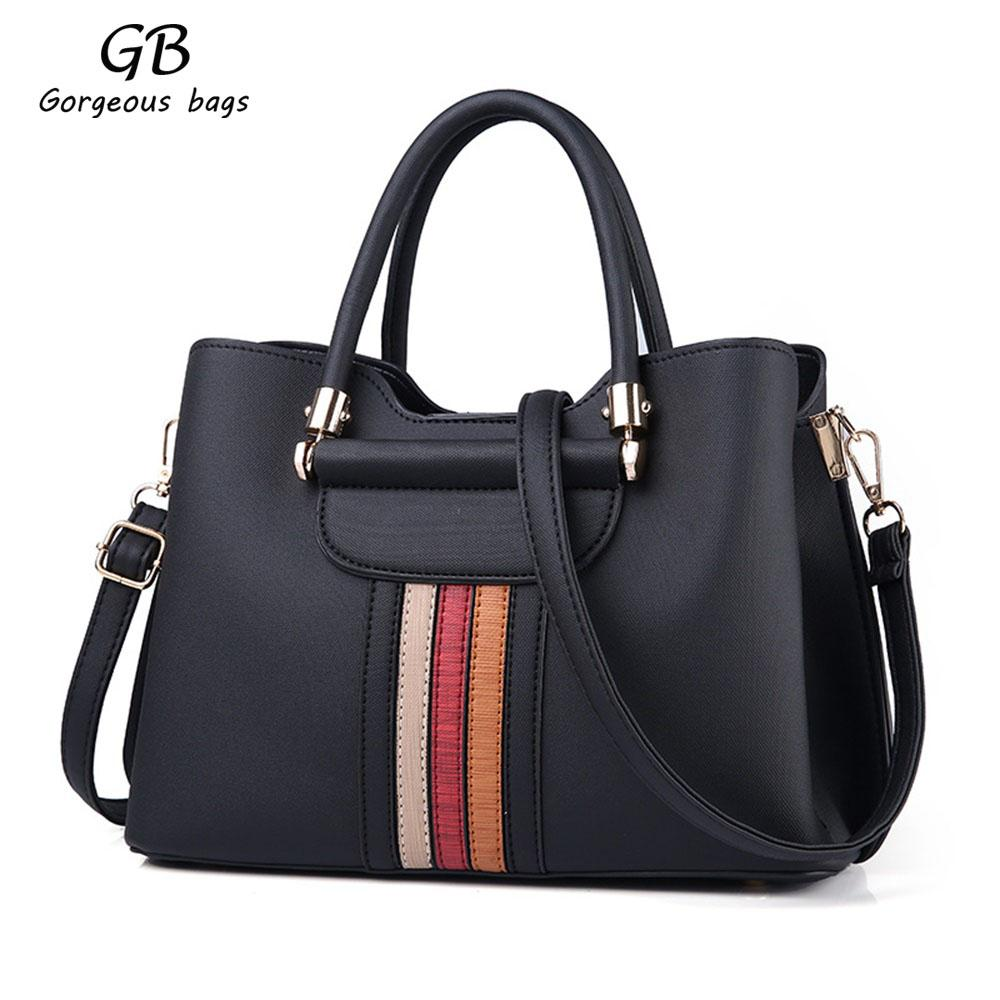 2019 2018 New Female Bag European And American Style One Shoulder Handbags  Fashion Trend Big Bag Hand Bags Female PU Leather Five Colors From  Gorgeousbags eea953db26003