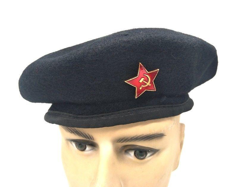 bd3c014d 2019 RUSSIAN WOOL BERET CAP ARMY BORDER GUARD USSR HAT From Peniss, $29.57  | DHgate.Com