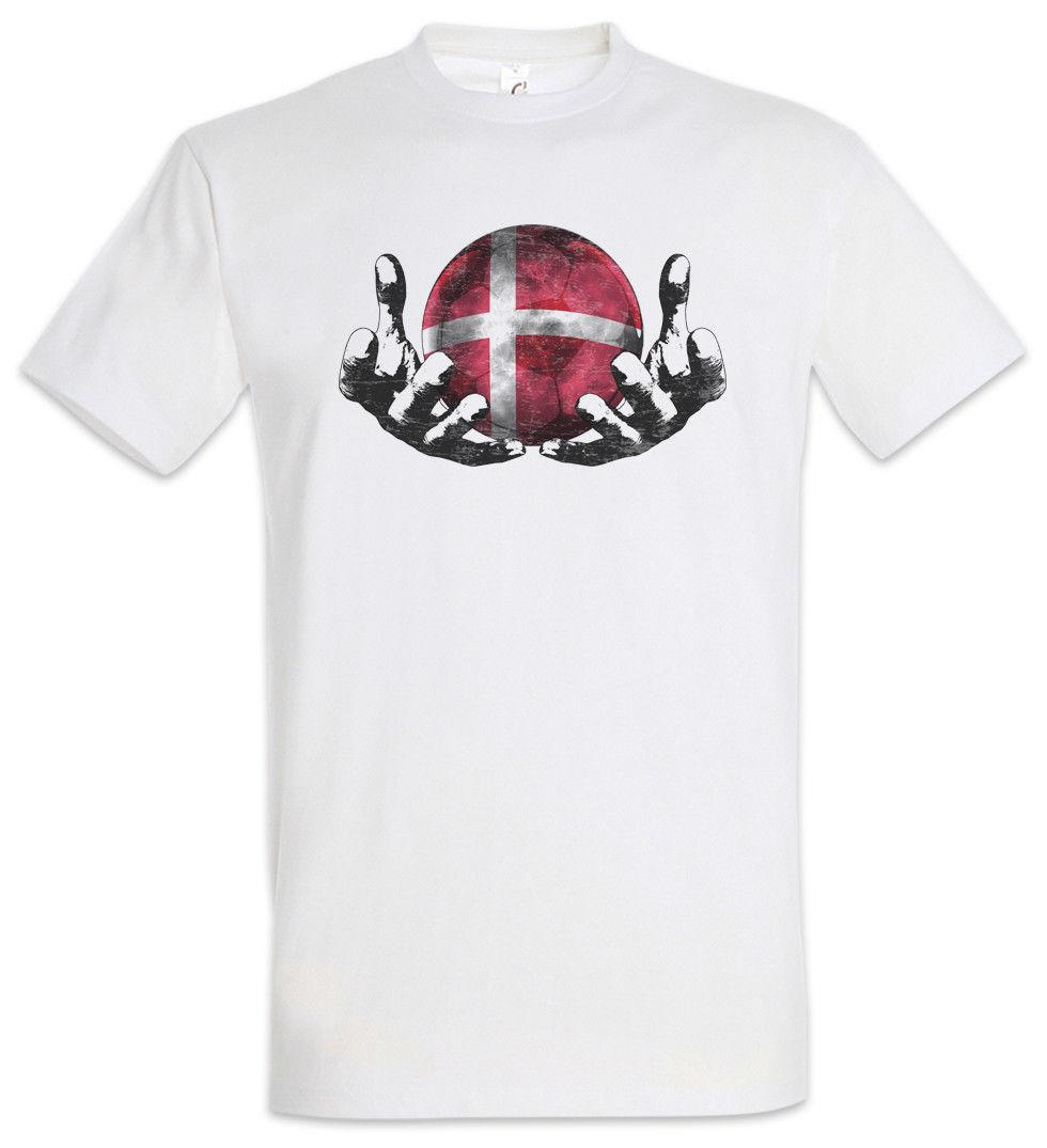 e86b51ca7 Denmark Football Magic Ball T Shirt Danish Soccer Flag Banner World  Championship Cool Casual Pride T Shirt Men Unisex New Funny Political T  Shirts Tee ...