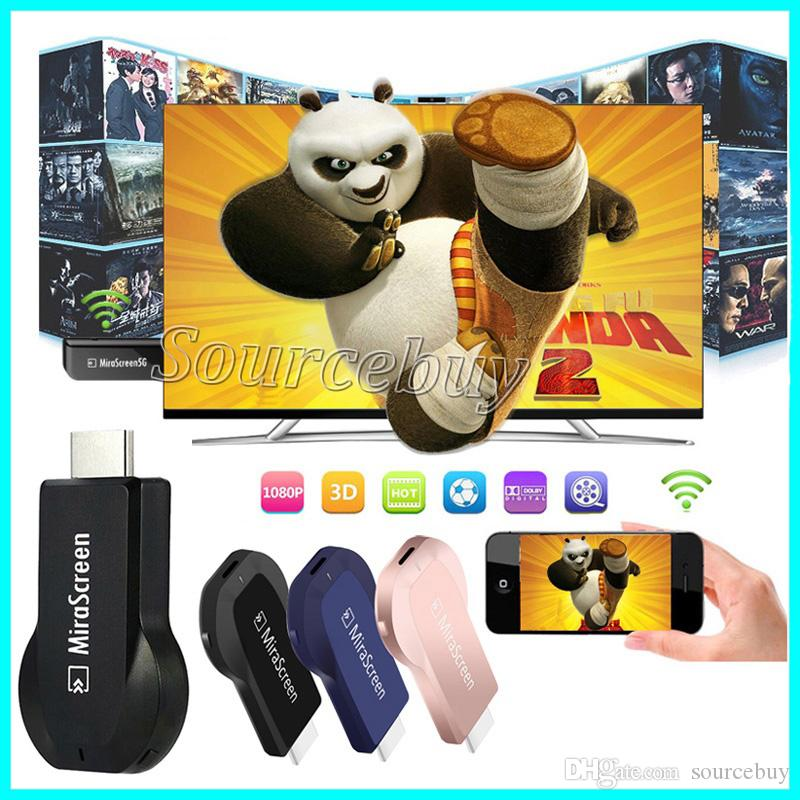 Mirescreen MX dongle Display sem fio HDMI Media Streamer de Vídeo TV Vara Airplay DLNA Miracast cromo fundido IOS android Smartphone tv adaptador