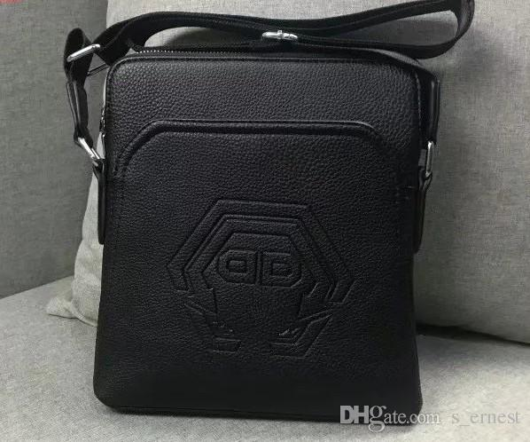 9b17f2c98 Leather Messenger Bags Men Travel Business Crossbody Shoulder Bag for Man  Sacoche Homme Bolsa Masculina
