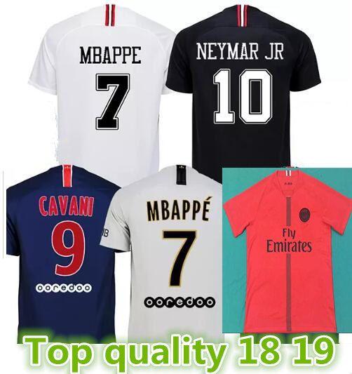 Top Quality Maillots Psg Soccer Jersey 2019 Paris MBAPPE Saint ... 00a7baf27