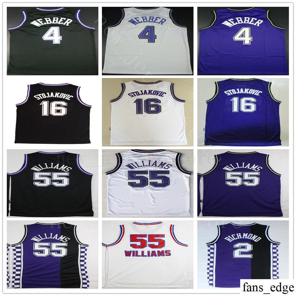 NCAA College Retro  4 Chris Webber Jersey 16 Peja Stojakovic 35 ... 1cf58340c