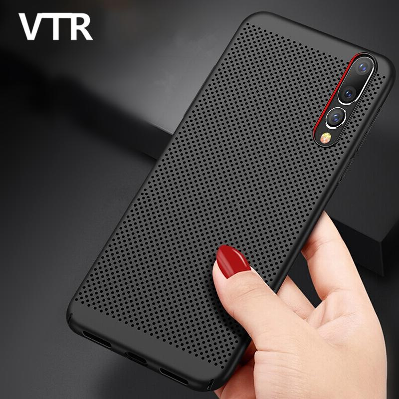 hot sales b4ff5 220e1 Heat dissipation Matte Hard Phone Case For Huawei P20 Pro P20 Lite PC  Plastic Cover For Huawei P20 Ultra Thin Full Back Cases