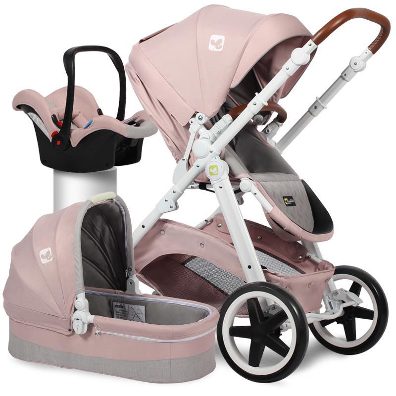 790ac46fa Compre Marca Bebê 3 Em 1 Carrinho De Bebê De Alta Vista Carro Europeu  Bidirecional Absorvedor Portátil Carrinho De Bebê De Bradle, $819.1 |  Pt.Dhgate.Com