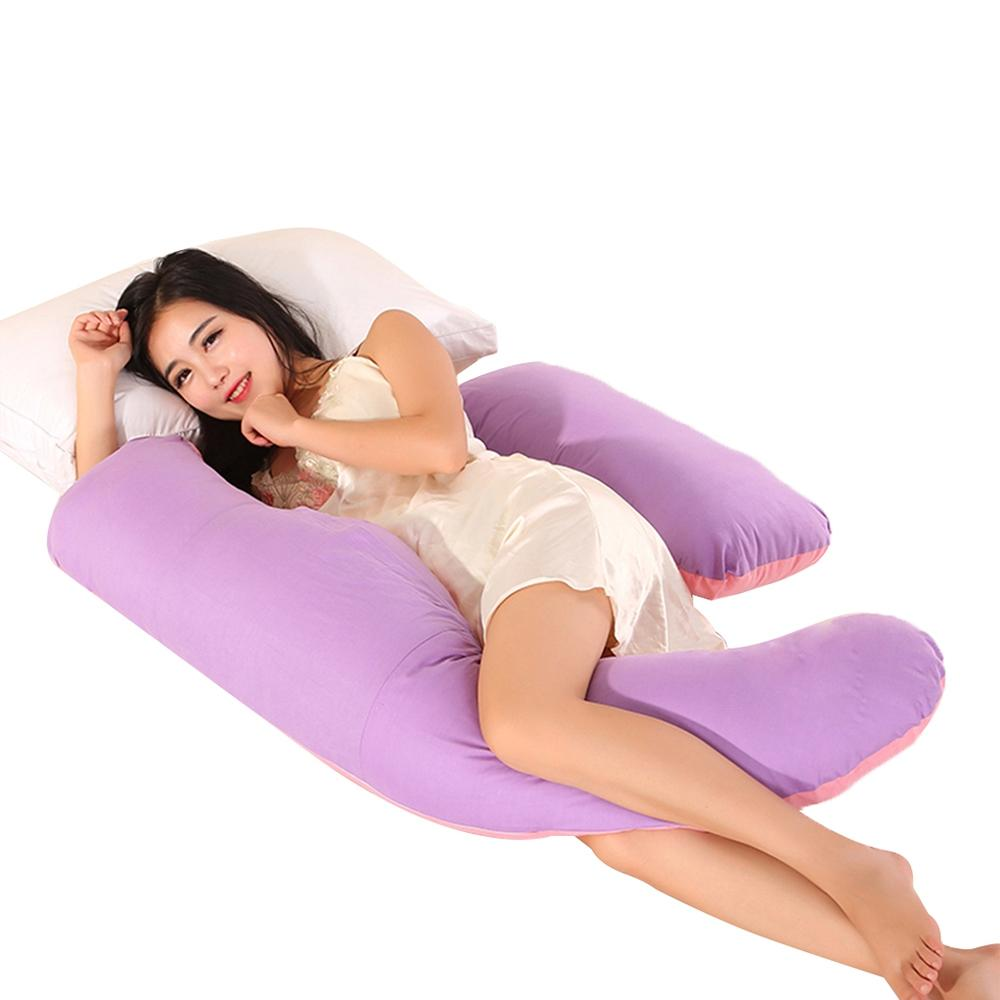 Crescent Shaped Comfortable For Pregnant Women Eld Body Pillow