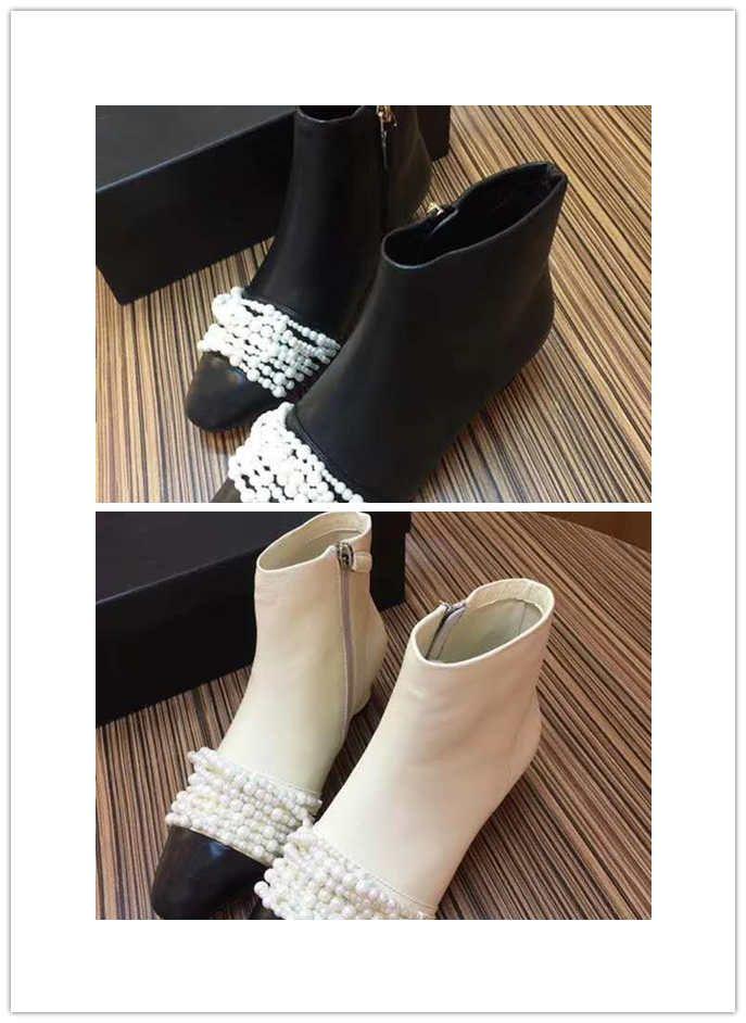 3619d6a58 Shoes Wholesale Solid Color Plain Color 2018 Brand Fashion Luxury Designer Women'S  Shoes Flat Scale Wing Black And White Black Combat Boots Chelsea Boots ...