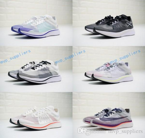 add6046b02ec3 2018 New Elite Limited Running Shoes Zoom Fly SP Breaking 2 Brand Sneakers  Men Women Sports Shoes Light Energy US 5.5 11 Good Running Shoes Skechers  Running ...