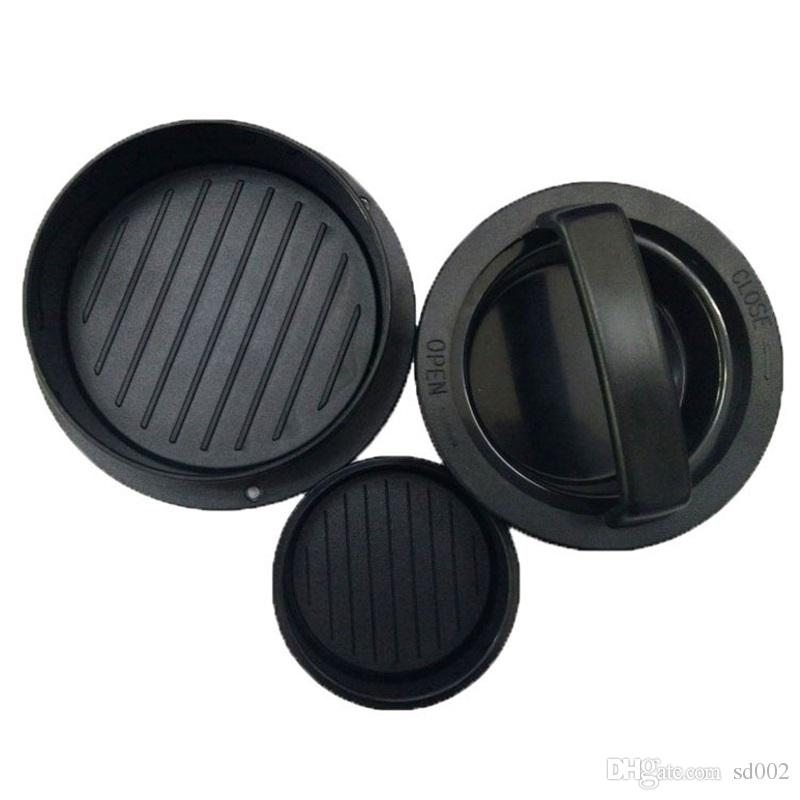 Hamburger Pressure For Circular Environmental Black New Kitchen Gadget Meat Pie Press Easy To Carry Free Shipping12 5mc V