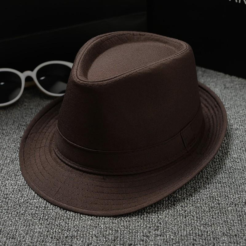 Universal Stingy Brim Hats Comfortable Cotton Linen Straw Hat For Men And Women Fedora Panama Jazz Cap Creative Snapbacks 5 5kp B