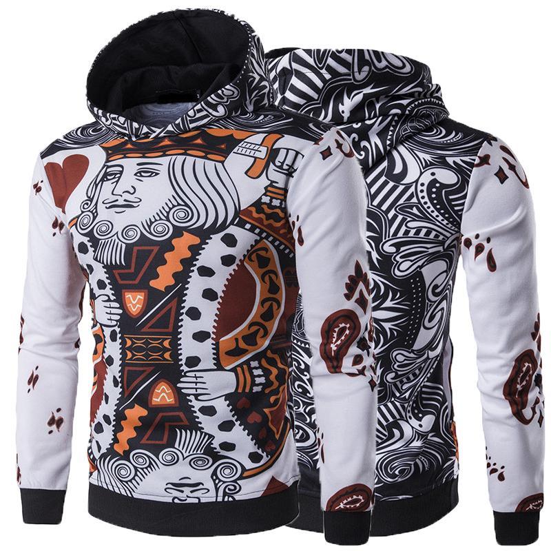 Feitong Hoodies Sweatshirts Men 3d Skeleton Print Long Sleeve Pullover O Neck Blouse Streetwear Hip Hop Hoodie Sweatshirt Male Sale Price Hoodies & Sweatshirts