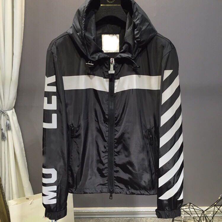 b338f3d538 M W Fashion Jackets Nylon Hoodie Jacket Coat Autumn And Winter Loose ...