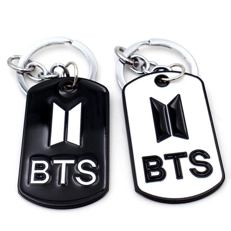 1d673f45d2c5 New BTS Bangtan Boys Metal Dog Tag Keychain Fashion Keyring Car Bag  Chaveiro Key Chain Pendant Jewelry BTS Accessories Key Fobs Key Tags From  Watchoutmate