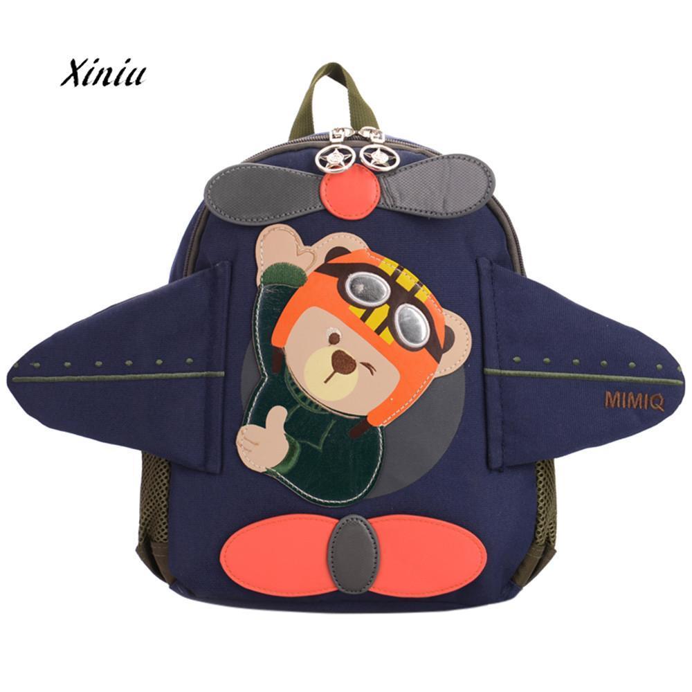 6eae6435fc Cute Aircraft Shape Backpacks Children Baby Shoulder Bag Girl Boys Kids  Cute Cartoon Bear Plane Backpack Toddler School Bag Discount Backpacks For  School ...
