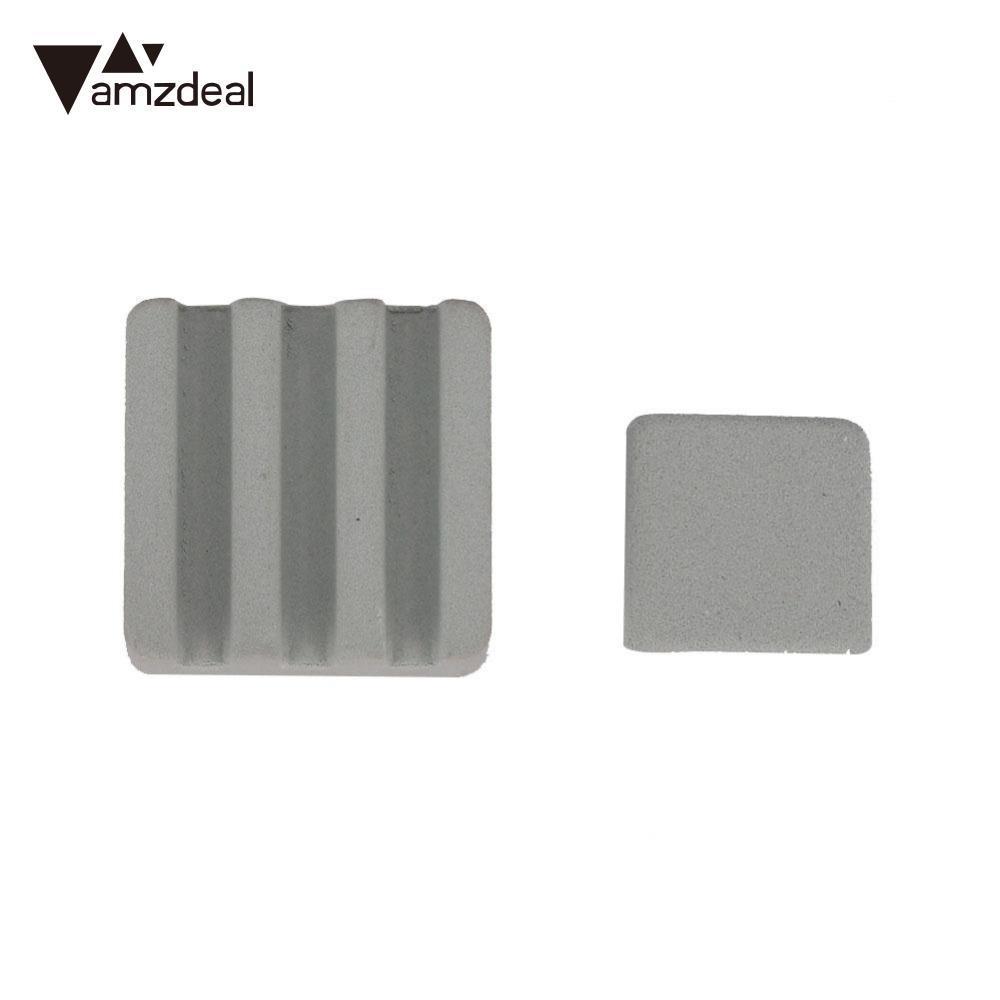 amzdeal 2Pcs Ceramic Heat Sink Cooling Cooler Self Adhesive For Raspberry  Pi 3 Orange Pi