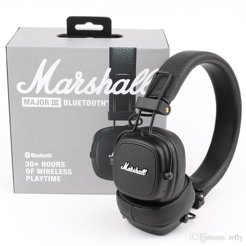 Acquista Marshall Major III 3.0 2.0 Cuffie Senza Fili Bluetooth Deep Bass  Cuffie Con Isolamento Acustico Wireless Major 3 Hi Fi A  40.61 Dal Refly  953a4b511488