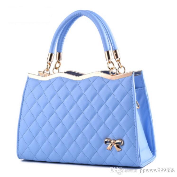 1b6df146f9 Women Messenger Bags Ladies Tote Small Shoulder Bag Woman Brand Leather  Handbag Crossbody Bag With Scarf Lock Designer BolsasW004 Crossbody Purse  Travel ...