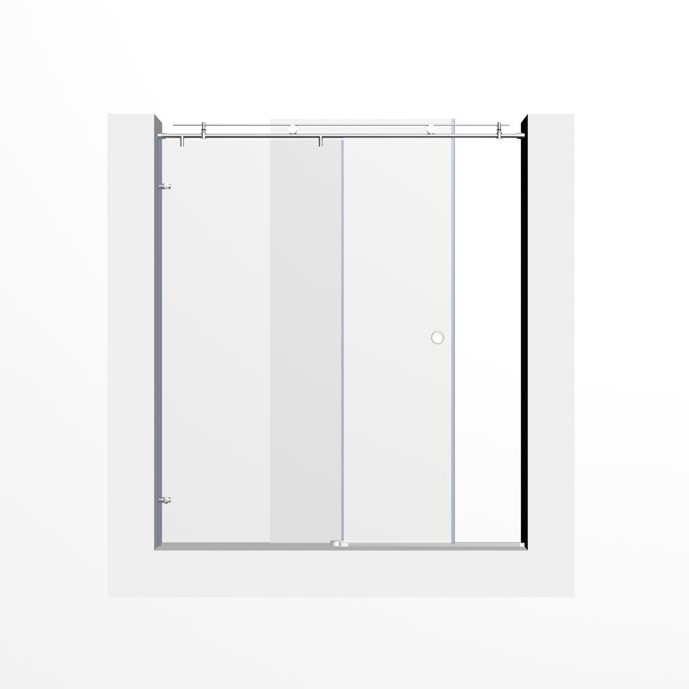 2018 Interior Door Glass Frosted Glass Shower Doors 60 10mm Sliding