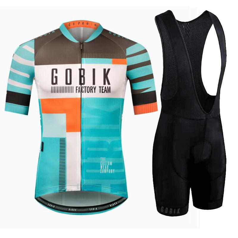 275cbc643 Men S Cycling Jersey 2018 GOBIK Cycling Clothing Summer Short Sleeve Jersey  Pro Team Racing MTB Road Bike Shirt Ropa Ciclismo Mens Long T Shirts Bicycle  ...