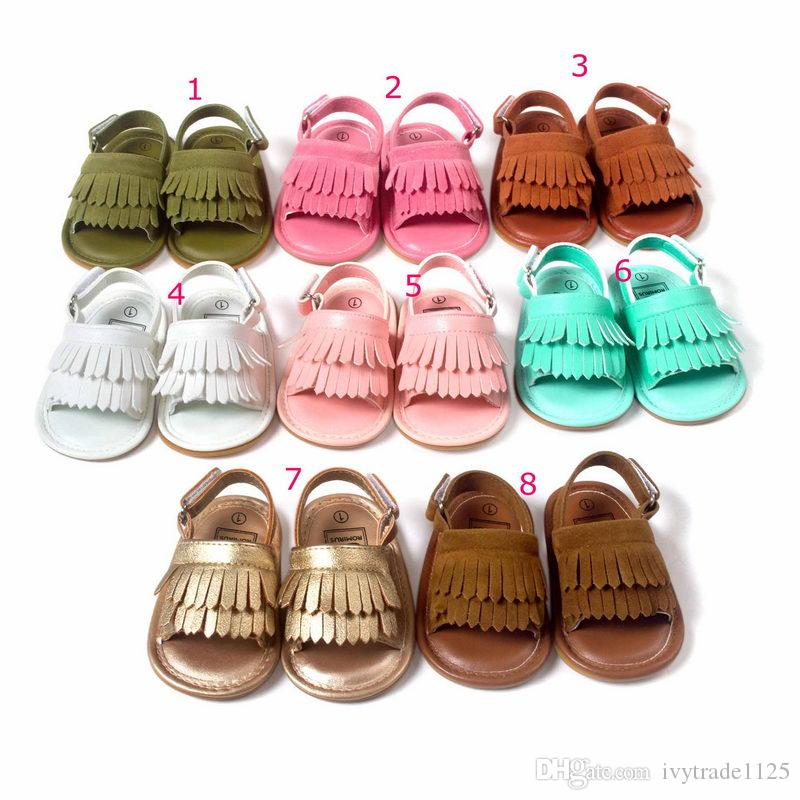 baby shoes girl first walkers infant shoes toddler boutique anti-skidding girl shoes sandal
