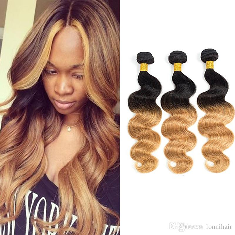 2018 3 Bundles Deals Malaysian Ombre Weave Fashion Style 1b 27