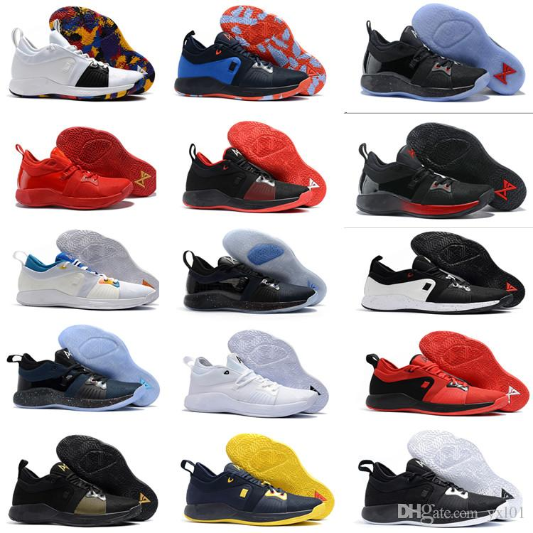 6091cfde9eb4b1 2018 New Arrival Paul George 2 Basketball Shoes For Hig Quality PG2 PS4  Playstation Black BLue Red White PG 2s Sports Sneakers Size40 46 Shoes  Canada ...