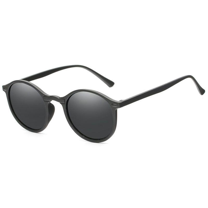c63117638c3 Fashion Round Polarized Sunglasses Retro Men Eyeglasses Brand Design Women  Shades Sun Glasses UV400 Eyewear Oculos De Sol Heart Shaped Sunglasses  Mirrored ...